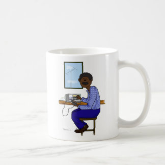 African American Male Ham Operator Coffee Mug