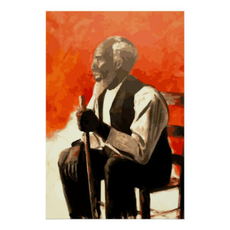 African American Man Uncle Poster