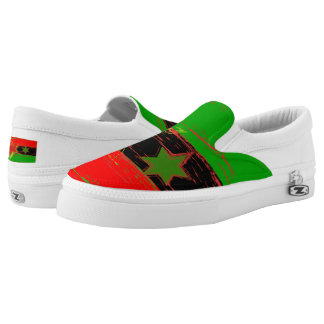 African American Marcus Garvey Slip on Shoes
