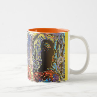 """African American"" mardi gras Divas coffee mug"