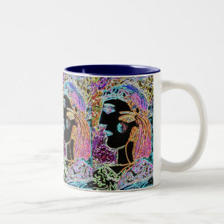 """African American"" Mardi gras Queen coffee mug"