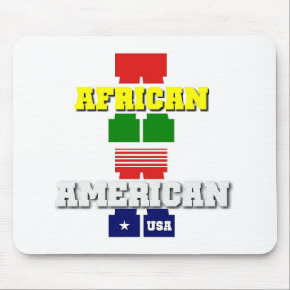 African American Mouse Pad