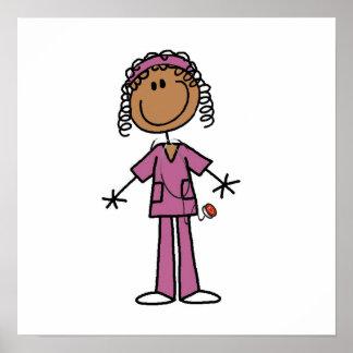 African American Nurse Poster