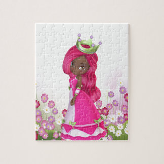 African American Princess Jigsaw Puzzle