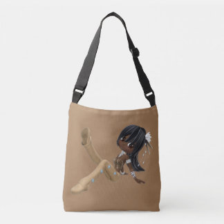 African American Woman Medium Bag