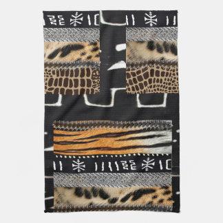 African Animal Kitchen Towel