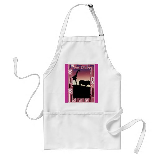 African animals 1 aprons