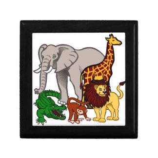 African Animals Gift Box