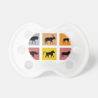 African animals pacifier