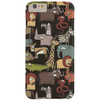 African Animals Pattern Barely There iPhone 6 Plus Case