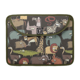 African Animals Pattern MacBook Pro Sleeve