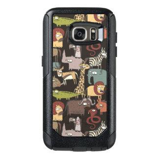 African Animals Pattern OtterBox Samsung Galaxy S7 Case