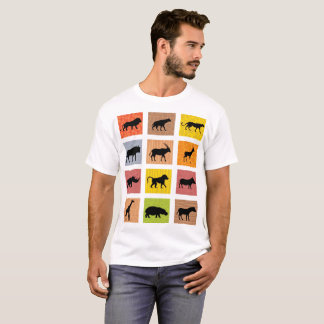 African Animals T-shirt