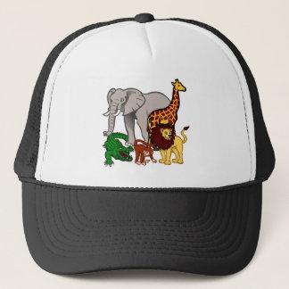 African Animals Trucker Hat