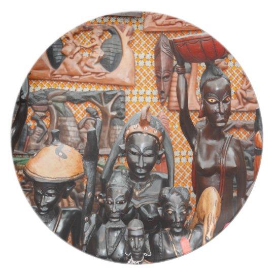 African art plate
