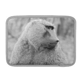 African baboon MacBook air sleeves
