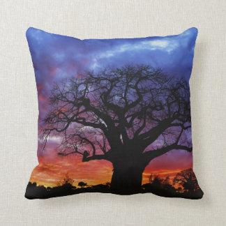 African baobab tree, Adansonia digitata 2 Throw Pillow