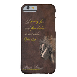African beauty iPhone Case
