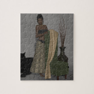 African Beauty Tyla Jigsaw Puzzle