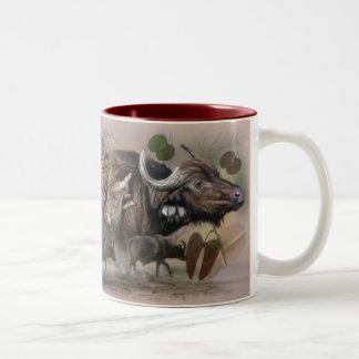 African Big 5 coffee mug - Cape Buffalo