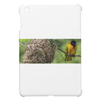 African Bird and Her Grass Nest iPad Mini Case
