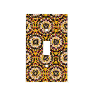 African Boho Collection - Feathered Light Switch Cover