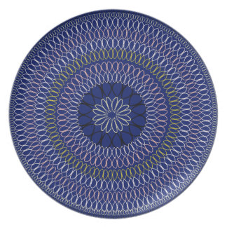 African Boho Collection - Full Circle Party Plate