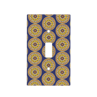 African Boho Collection - Switched Light Switch Cover