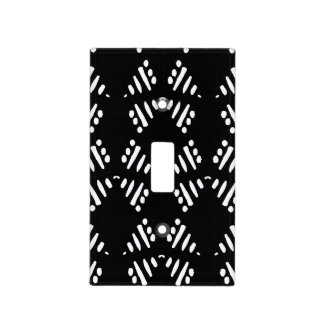 African Boho Collection - Tribal Print Light Switch Cover