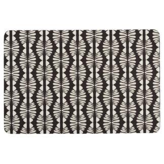 African Boho Criss Cross Floor Mat