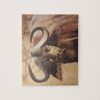 African Buffalo Puzzle