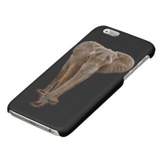 African Bush Elephant Glossy iPhone 6 Case