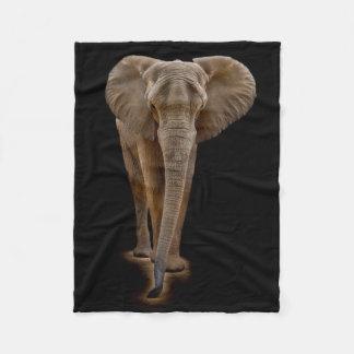 African Bush Elephant Small Fleece Blanket