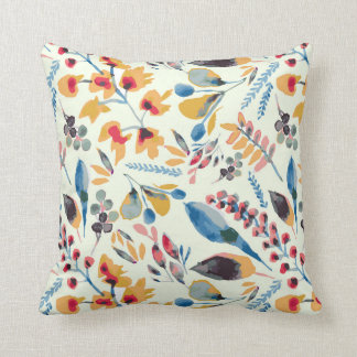 African bush / floral / indigenous / madikwe throw pillow