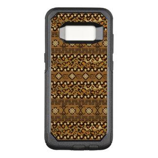 African cheetah skin pattern 2 OtterBox commuter samsung galaxy s8 case