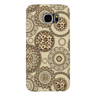 African cheetah skin pattern 3 samsung galaxy s6 cases