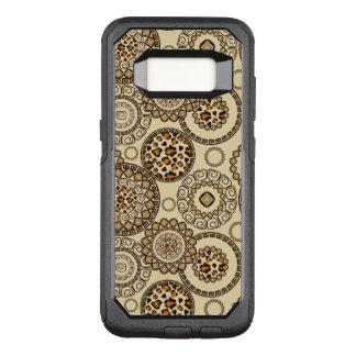 African cheetah skin pattern 3 OtterBox commuter samsung galaxy s8 case