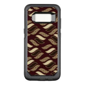 African cheetah skin pattern OtterBox commuter samsung galaxy s8 case