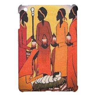 African Christmas Nativity Scene iPad Mini Cases