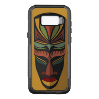 African Colorful Mask OtterBox Commuter Samsung Galaxy S8+ Case
