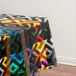 African  Colorful Pattern Tablecloth