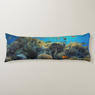 African Coral Reef Body Pillow