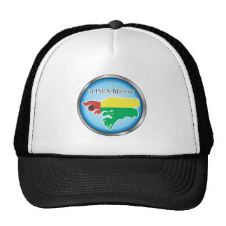 African country buttons trucker hat