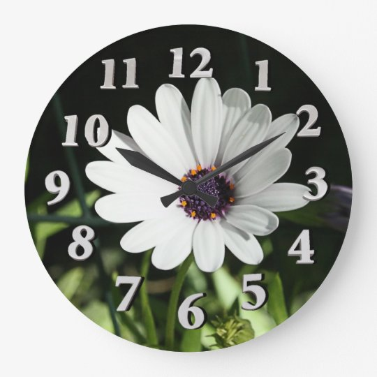 African Daisy Clock