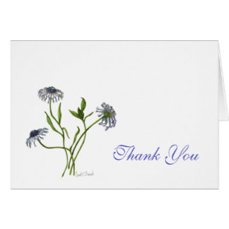 African Daisy Thank You Card
