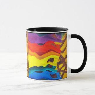 african dancer mug