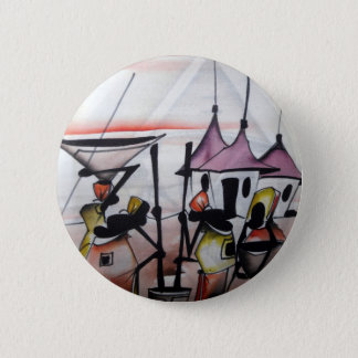 African Decor and Wear 2 Inch Round Button