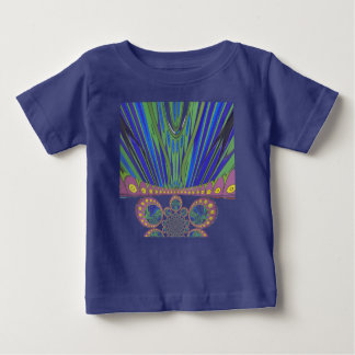 African decorative pattern modern design colours baby T-Shirt