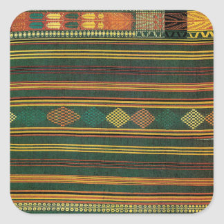 African Design #10 @ Stylnic Square Sticker