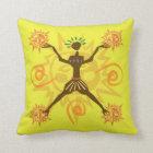 African design throw pillow